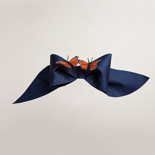 Large Bow Trim with Butterflies