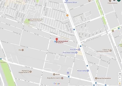 Ubicacion Harinera Anahuac Mexico