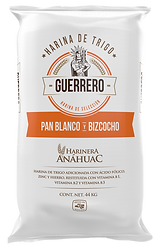 Harina de trigo pan blanco y bizcocho Guerrero