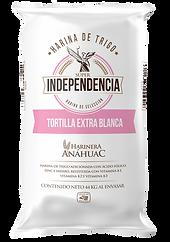 Harina de trigo Tortill Extra Blanca