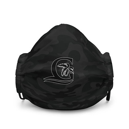 Black G Black CAMO - Premium face mask