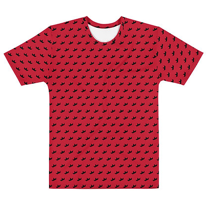 RED - Black Crown - Men's silky smooth Dress shirt