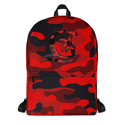 RED CAMO - Backpack