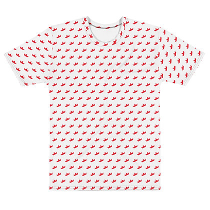 WHITE Red Crown - Men's silky smooth Dress shirt