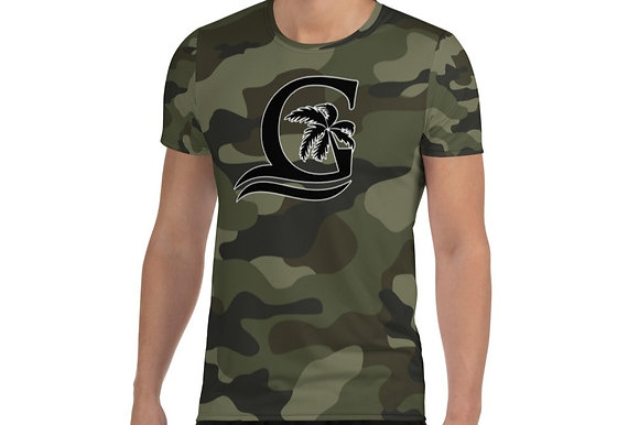 Camouflage -  Men's Athletic T-shirt