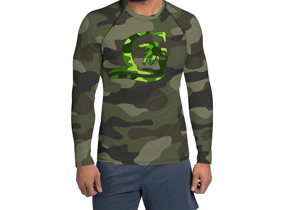 Camouflage Green Rash Guard