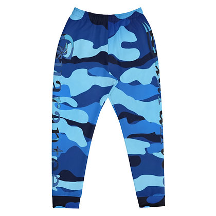Blue Camo - Men's Athletic pants