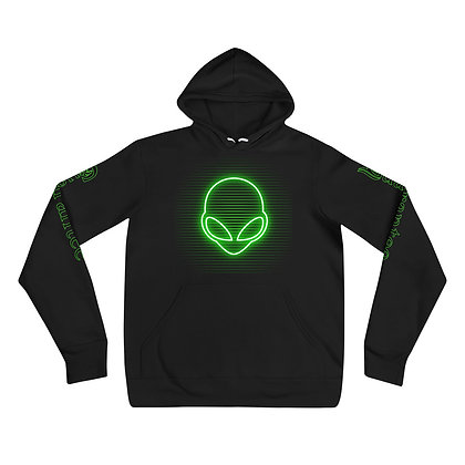 Alien Head static - Super soft Unisex hoodie