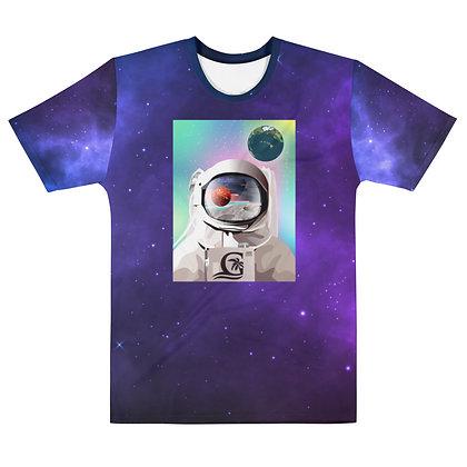Astronaut - Men's Silky smooth T-shirt