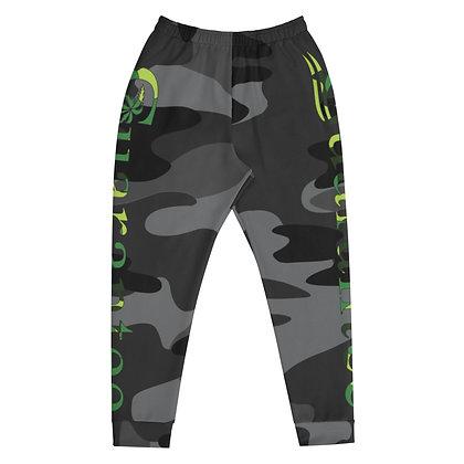 Grey Camo Green Guarantee - Men's Athletic pants