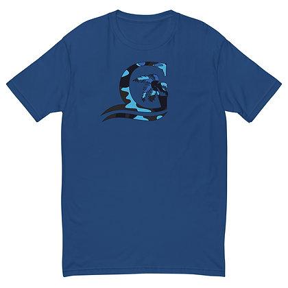 Blue Camo G - Super soft shirt