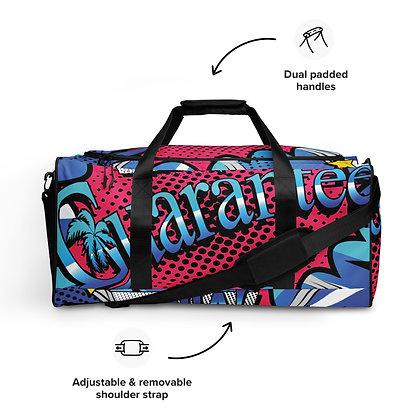Comic Book style Duffle bag