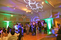 Green elegant uplighting wide view with digital image2.jpg