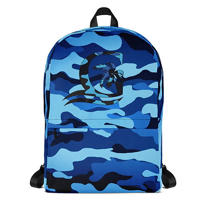 BLUE CAMO - Backpack