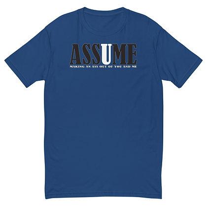 ASSUME - Men's T-shirt