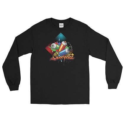 Vibrant Can2 - Men's Long Sleeve Shirt