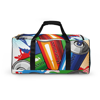Vibrant Cans Duffle bag