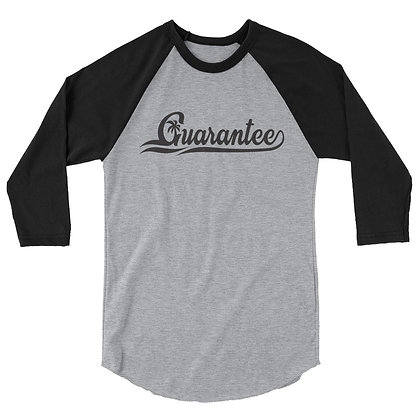 Guarantee Baseball style - Women's 3/4 sleeve raglan shirt