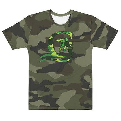 Green Camo - Men's Silky smooth Dress Shirt