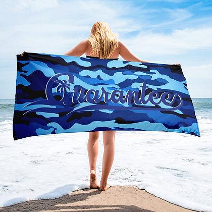 BLUE CAMO - Towel