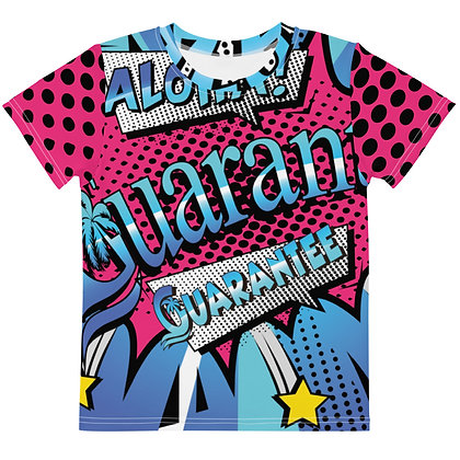 Comic Book Style - Kids silky smooth shirt