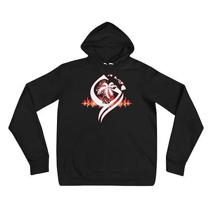 Flaming Dice hoodie