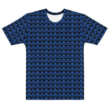 Blue Diamonds - Men's Silky smooth T-shirt