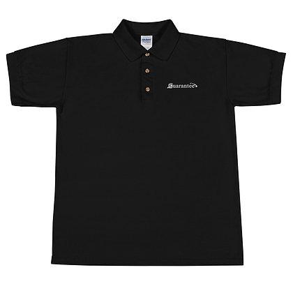 Guarantee Islands - Men's Embroidered Polo Shirt
