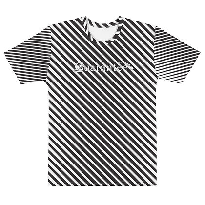 Black & White Stripes - Sublimated Men's T-shirt