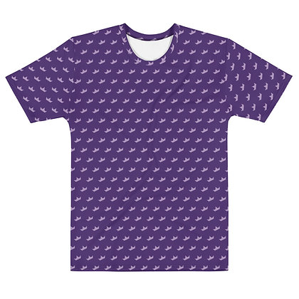 Crown PURPLE - Men's silky smooth Dress shirt