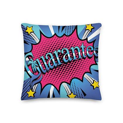 Guarantee Comic Book Style - Premium Pillow