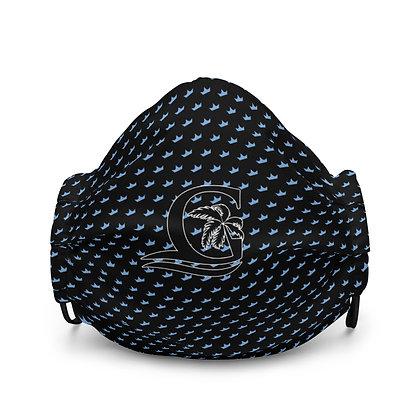 Black G Blue Crown - Premium face mask