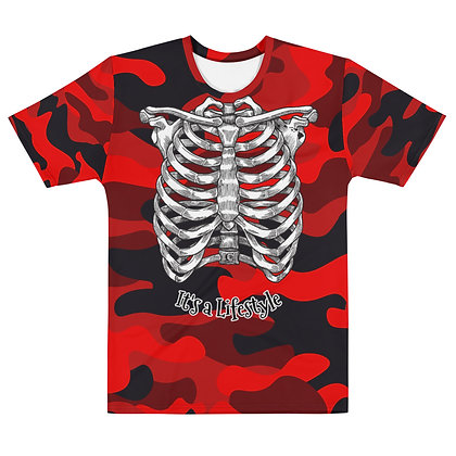 Camouflage Ribcage - Men's T-shirt