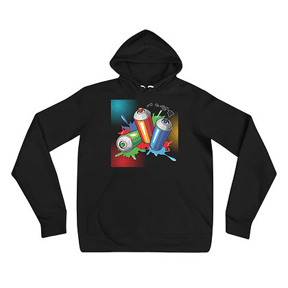 Vibrant Cans hoodie