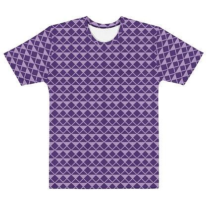 Purple Diamonds - Men's Silky smooth T-shirt