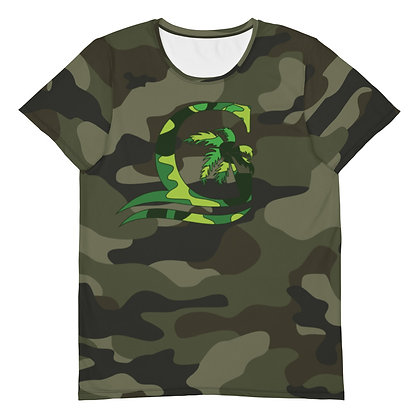 Green Red - Men's Athletic T-shirt