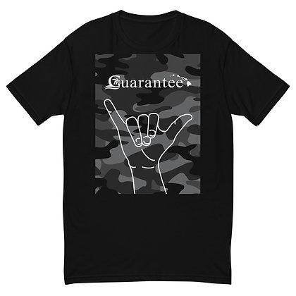 Grey Camo shaka - Super soft T-Shirt