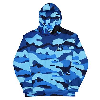 Blue Camo - Hoodie