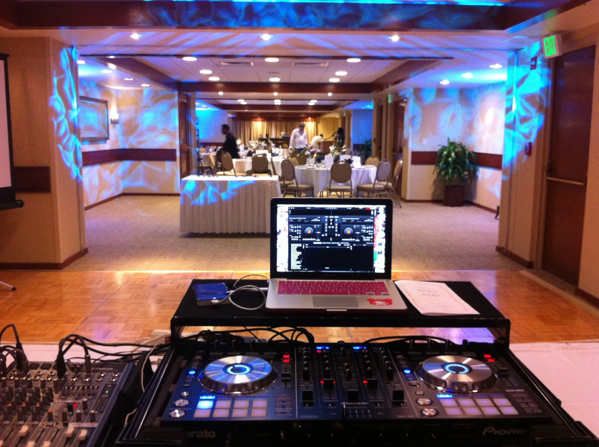 Dj and lighting set up.jpg