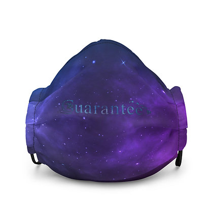 Outer space - Premium face mask