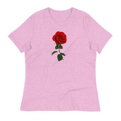 Women's Relaxed T-Shirt - Rose