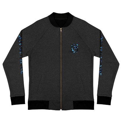 Blue Camo G - Bomber Jacket