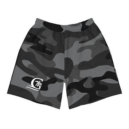 Grey Camo - Men's Athletic Shorts