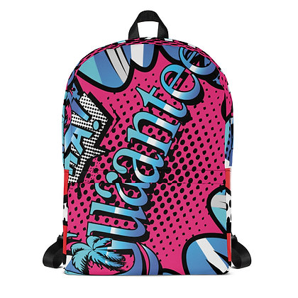 Backpack - Comic Book style