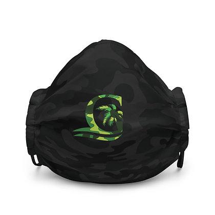 Green G Black CAMO - Premium face mask