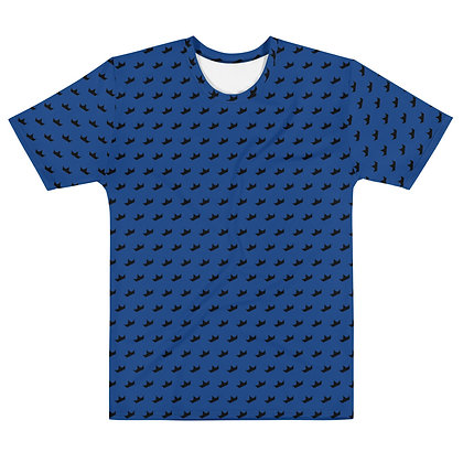 BLUE - Black Crown - Men's silky smooth Dress shirt