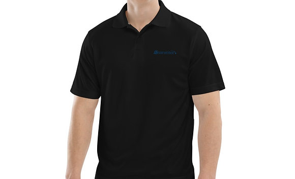 Guaranetee/Champion Men's polo - Blue