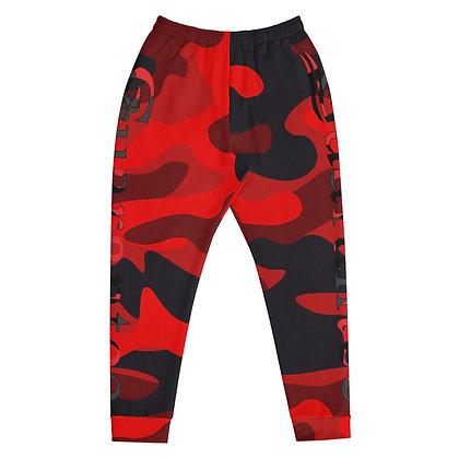 RED camo - Men's Athletic pants