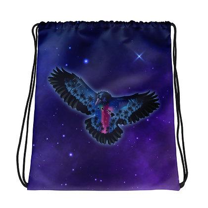 Space bird - Drawstring bag