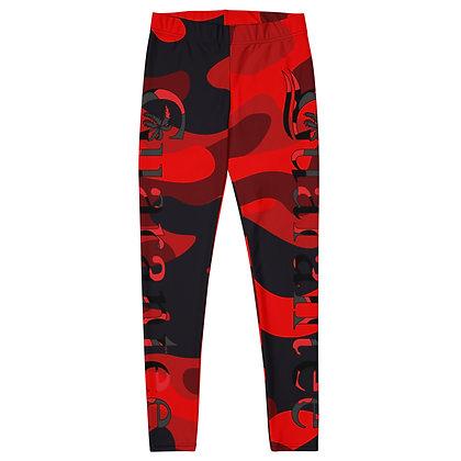 Red Camo - Women's Leggings